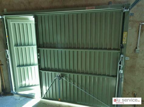 r 233 alisation porte de garage basculante avec portillon