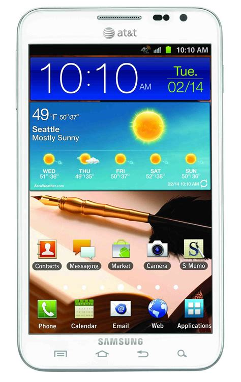Samsung Unlocked Phones New Samsung Galaxy Note I717 Unlocked Gsm Android Cell Phone White Ebay