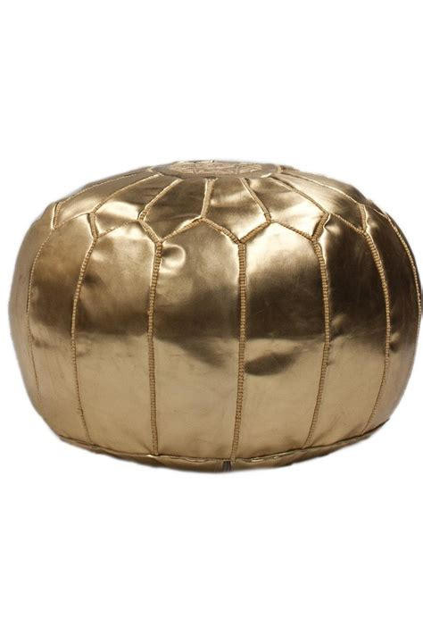 gold pouf ottoman 17 best ideas about gold pouf on pinterest closet vanity