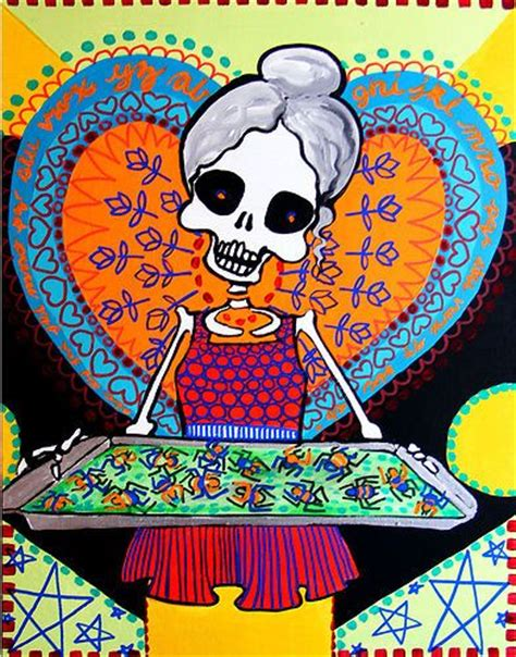 Day Of The Dead Kitchen Decor cookie kitchen decor day of the dead sugar