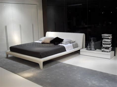modern bedroom set venice white