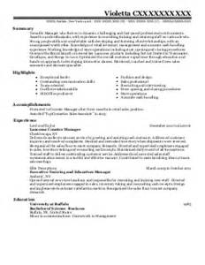 Walgreens Resume by Store Manager Resume Exle Walgreens Springdale Arkansas