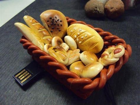 bread basket shaped usb flash drive gadgetsin
