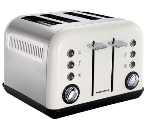 Morphy Richards Toaster White buy morphy richards accents 242005 4 slice toaster white free delivery currys