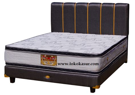Bed Bigland Silver Plus Top 180x200 Kasur Only silver plus top toko kasur bed murah