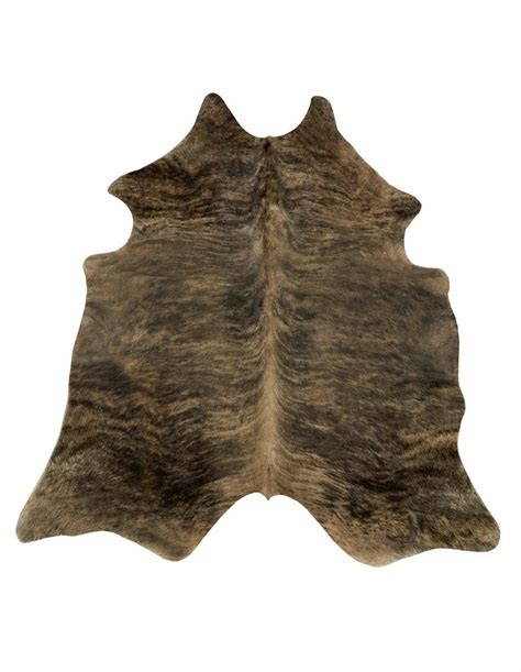 Brindle Cowhide Rug Blackish Brown Brindle Cowhide Rug L Cowhide Imports