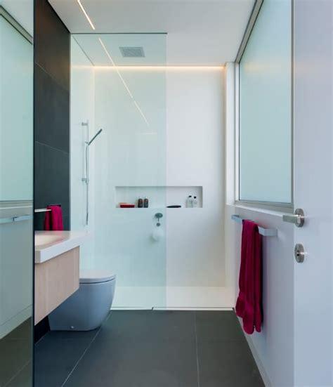 groutless shower ideas
