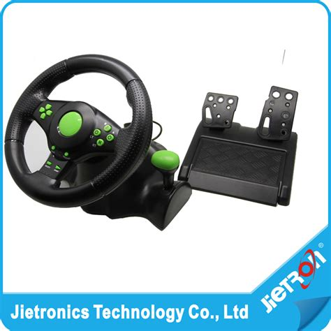 2017 wired usb vibration feedback racing wheel for ps3