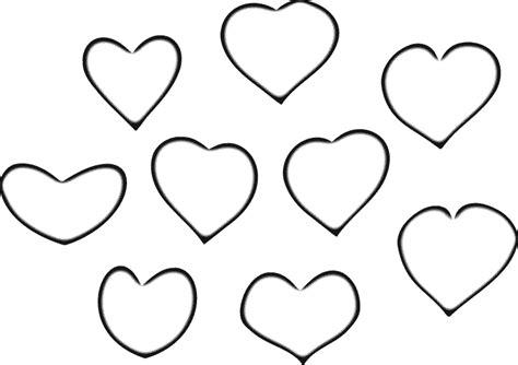 imagenes de corazones grandes para colorear corazones para colorear 2 dibujos online