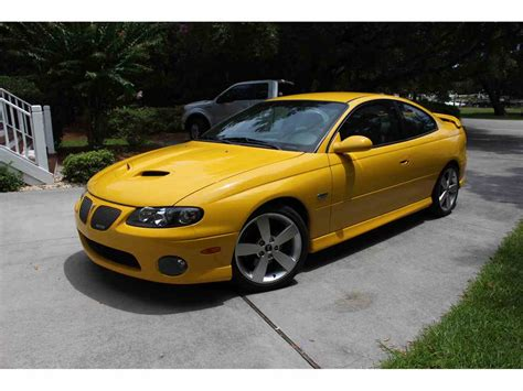 pontiac gto 2005 for sale 2005 pontiac gto for sale classiccars cc 1003226