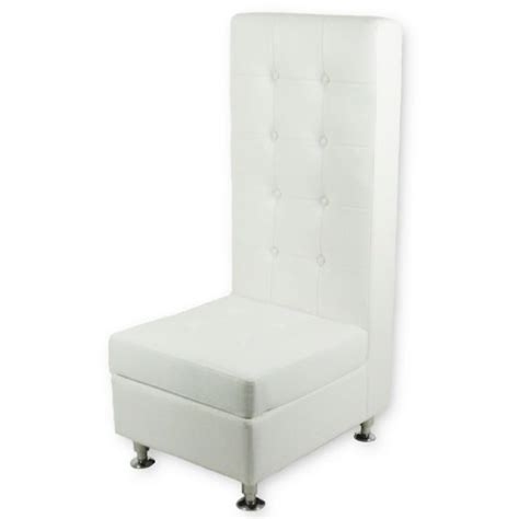 Baker Party Rentals High Back Tufted Sofa White Rentals High Back Tufted Sofa