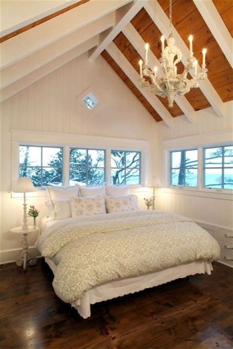 vaulted ceiling in bedroom bedroom white vaulted ceiling beautiful home pinterest