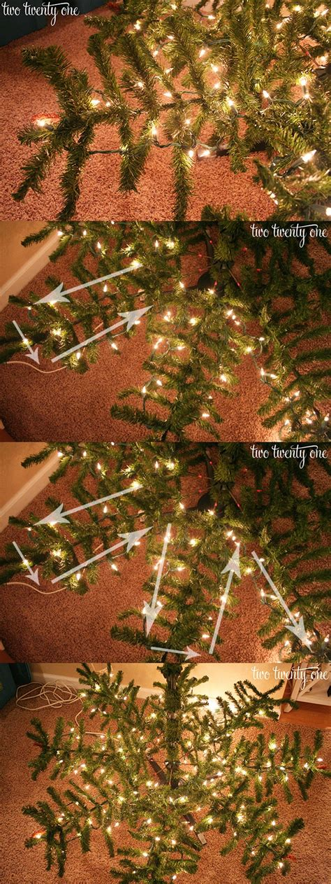 putting christmas lights on tree how to put lights on a tree