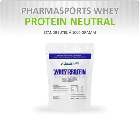 Shoo Nr Protein pharmasports whey protein neutral hohe bw