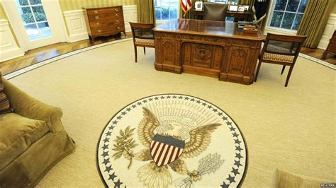 oval office rug bbc news in pictures oval office redecoration