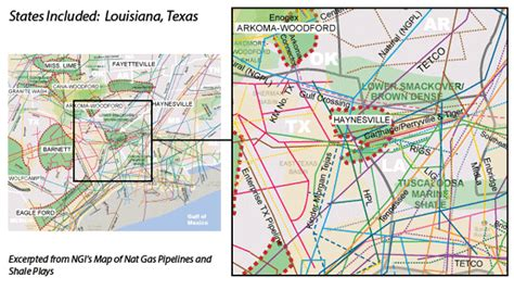 louisiana map lie haynesville shale facts and information