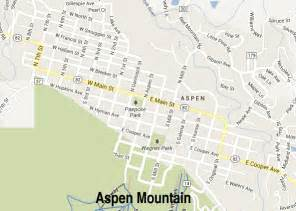 maps aspen colorado aspen snowmass maps driving directions