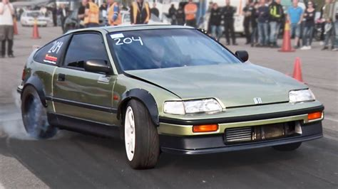 honda cxr rear wheel drive honda crx bmw powered 1320video