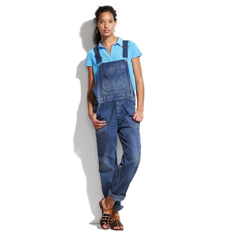 Overall Blue lyst chimala denim overalls in blue