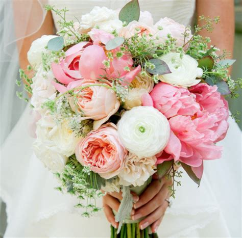 Wedding Bouquet Flower Types by Types Of Wedding Flowers Popular Wedding Flowers