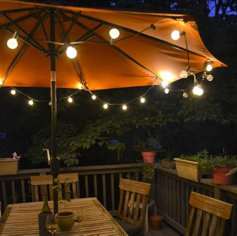 Patio With Lights 25 Best Ideas About Umbrella Lights On Patio Umbrella Lights Umbrella For Patio