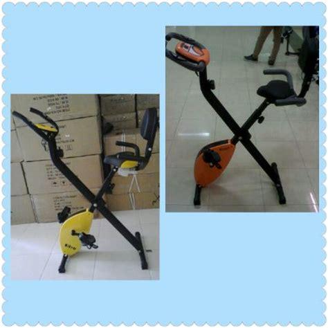 Sepeda Statis X Bike Laptop Untuk Fitness Dan Terapi daftar harga alat fitnes treadmill elektrik dan manual