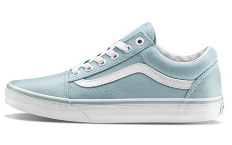 light purple vans skool vans w skool light blue shoes aw lab
