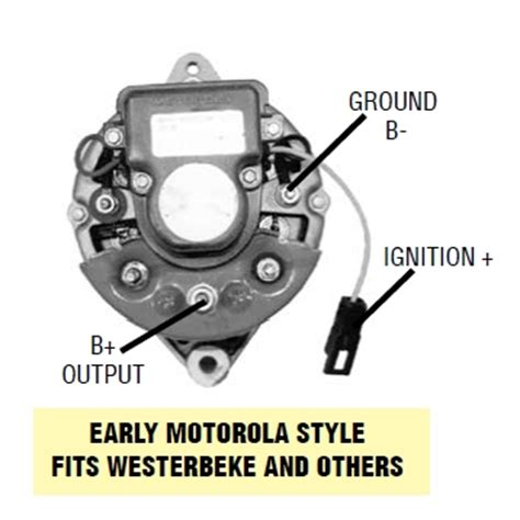 image gallery motorola alternator wiring diagram