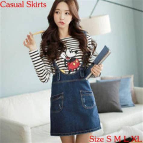 Mickey Katun Sweater Korea Fashion mickey mouse korean fashion korean style japanese fashion kawaii stripes denim
