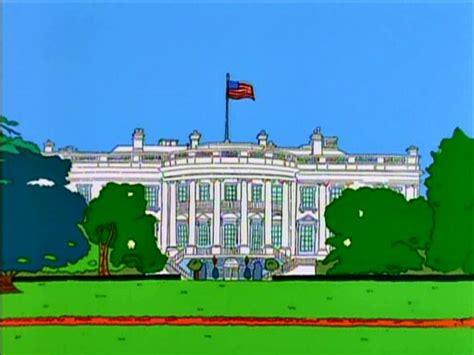 white house simpsons wiki fandom powered by wikia