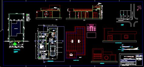 house  dwg block  autocad designs cad