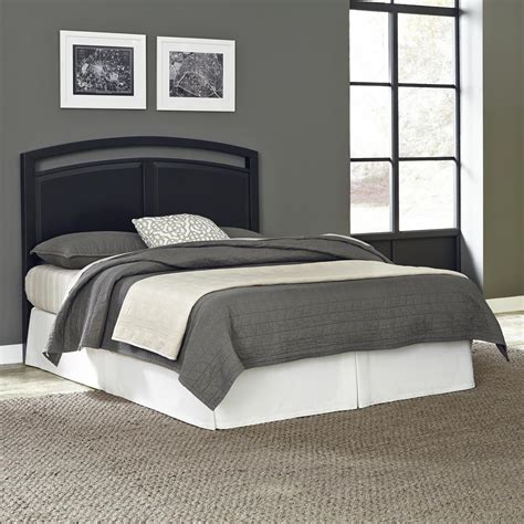 black headboard king home styles prescott black king headboard 5514 601 the home depot