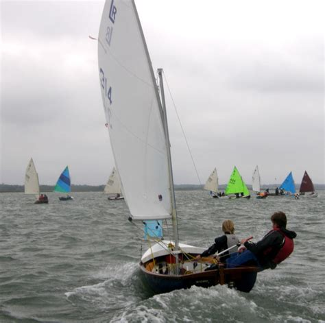 keyhaven scow lymington river scow nationals at keyhaven yacht club
