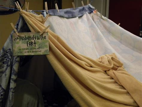 How To Make A Fort Out Of Blankets And Pillows by Stepford Free For All