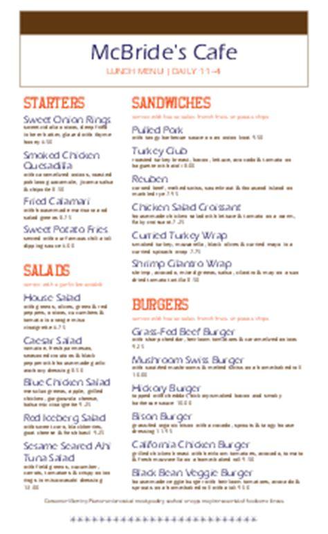 deli menu templates deli menu template delicatessen menu musthavemenus