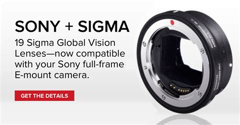 Adaptor Sigma Mc 11 sigma mc 11 lens adapter compatibility list