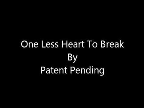lyrics patent pending patent pending