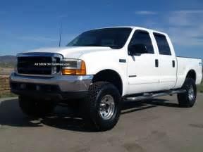 2001 ford f250 7 3l diesel 4x4 crew cab bed