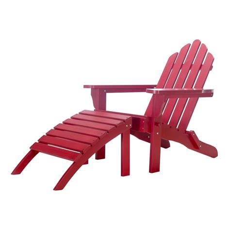 chair ottoman combo exclusive folding wood adirondack chair and ottoman combo