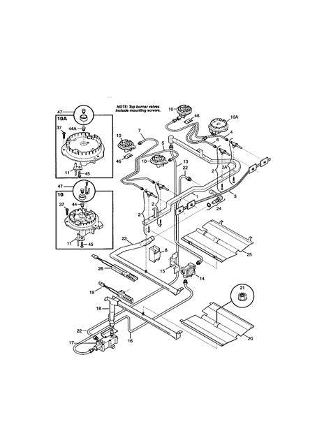 kenmore gas range parts diagram 301 moved permanently