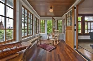 Wooden Sunroom Beautiful Sunroom With Gorgeous Wood Trim Windows Living