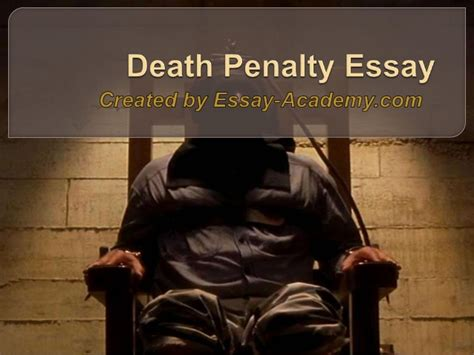 Do You Agree With The Penalty Essay by Penalty Essay
