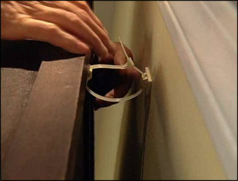 how to secure furniture to the wall step by step how tos