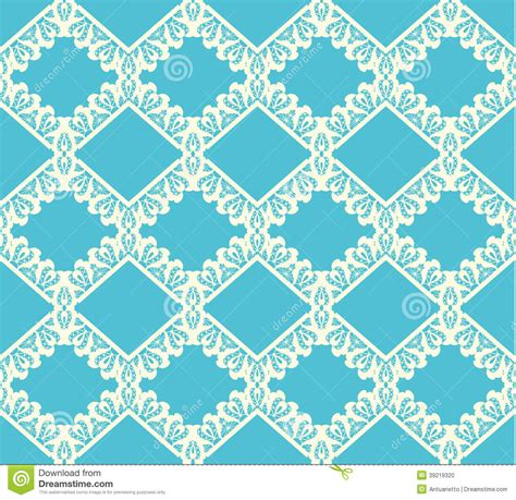cute lace pattern vector seamless knitted pattern vector illustration stock