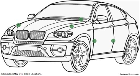 bmw chassis check vin code check for all vehicles bmwsections