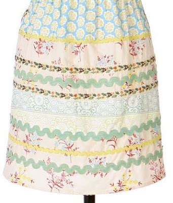 sewing basket apron breakfast at anthropologie fun aprons