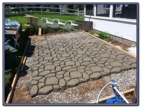 pouring concrete patio slab patios home decorating