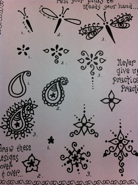 learn how to draw tattoo designs henna designs picmia