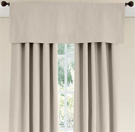 restoration hardware baby curtains cotton canvas valance valances restoration hardware