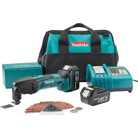 makita 18 volt lxt lithium ion cordless multi tool kit